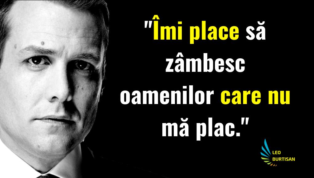 Harvey Specter Imi Place Sa Zambesc