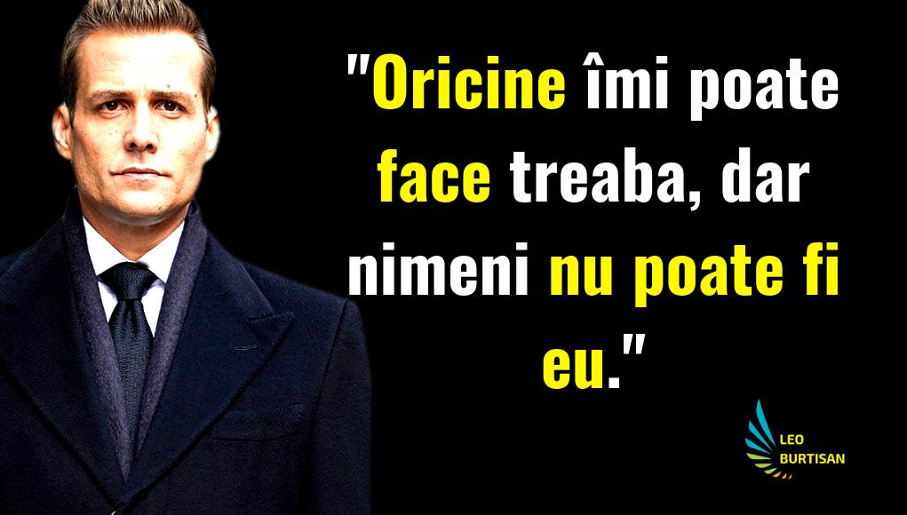 Harvey Specter Intelepciune