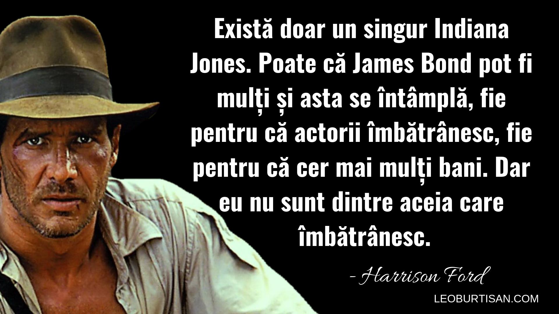 Harrison Ford - 13 Citate