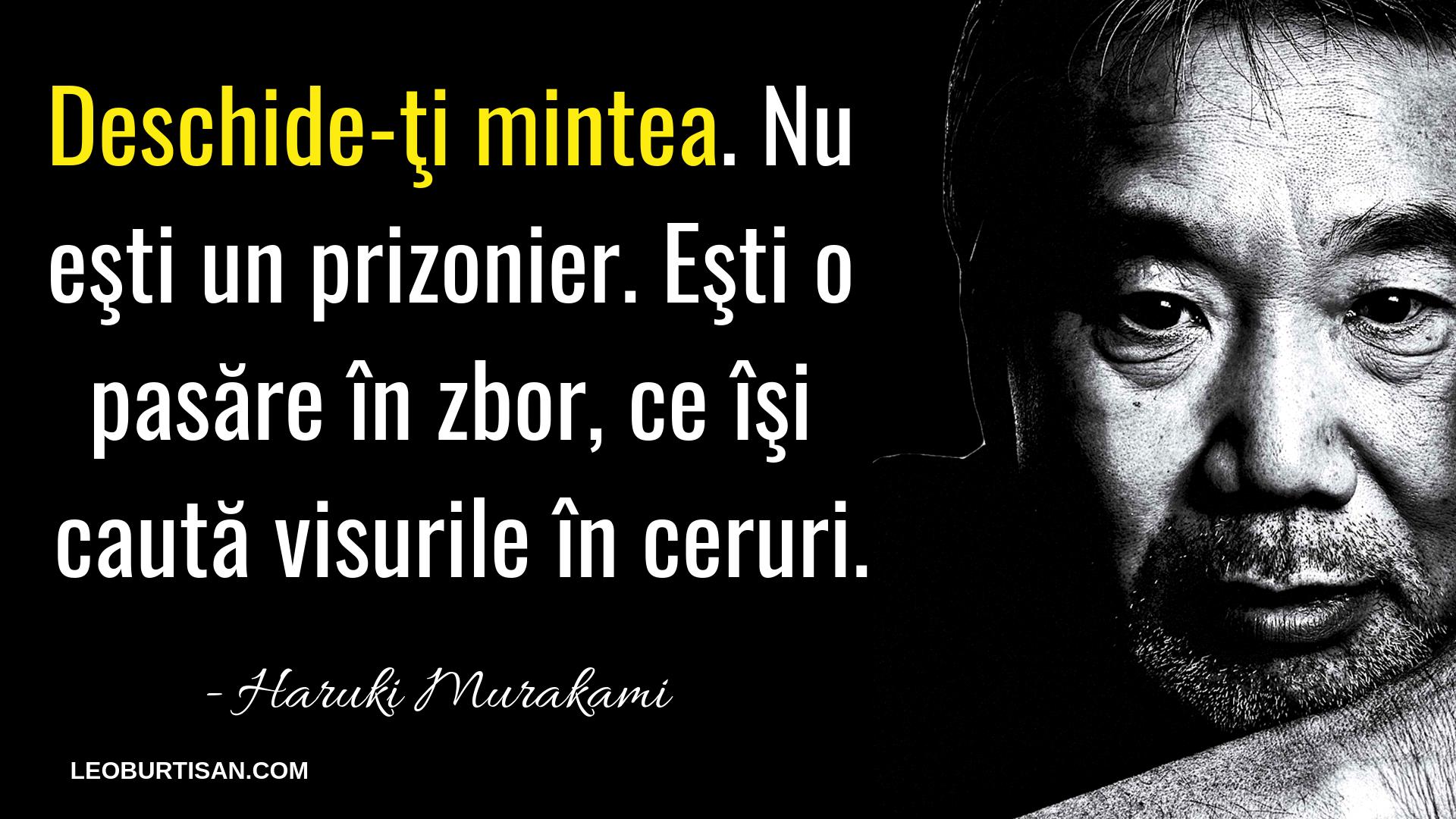 Haruki Murakami - 13 Citate Care Te Vor Ajuta Să Înțelegi Multe Situații Din Viață