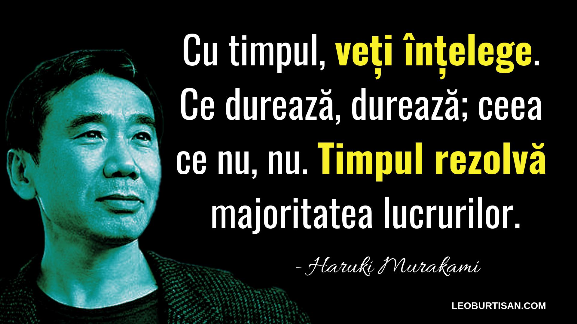 Haruki Murakami - 13 Citate Care Te Vor Ajuta Să Înțelegi