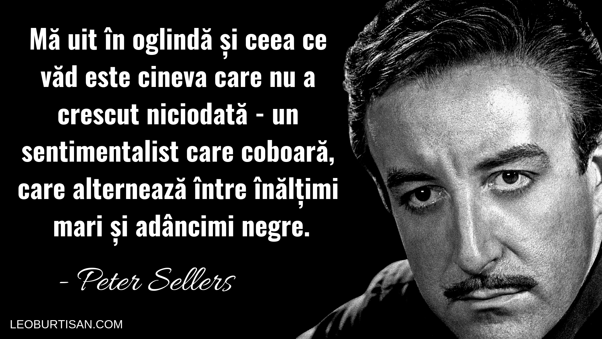 Peter Sellers - 13 Citate